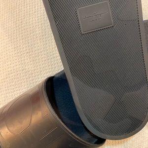 Salvatore Ferragamo Men's Pool Slide Sandals